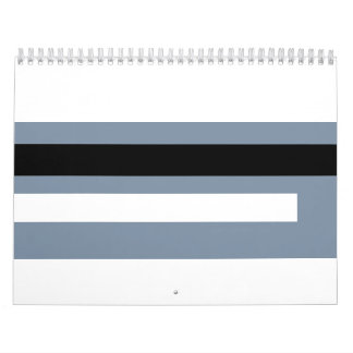 Tarjeta de crédito calendario de pared