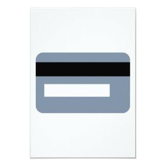 """Tarjeta de crédito invitación 3.5"""" x 5"""""""