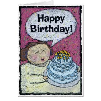 Tarjeta de cumpleaños, a la parte