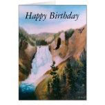 Tarjeta de cumpleaños altísima del alto II