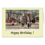 Tarjeta de cumpleaños - Brown University, Providen