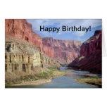 Tarjeta de cumpleaños con chiste del Gran Cañón