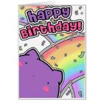 Tarjeta de cumpleaños de Blobcat