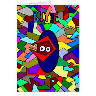 Tarjeta de cumpleaños de BLUIE 13