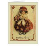 Tarjeta de cumpleaños de Bonne Fête del francés