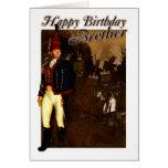 Tarjeta de cumpleaños de Brother - oficial 1822 de