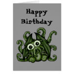 Tarjeta de cumpleaños de Cthulhu