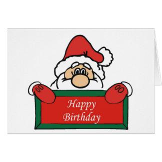 Tarjeta de cumpleaños de diciembre