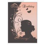 Tarjeta de cumpleaños de Geordie - de Hinney para