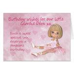 Tarjeta de cumpleaños de Geordie - pequeño Deva du