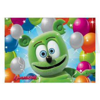 Tarjeta de cumpleaños de Gummibär (el oso gomoso)