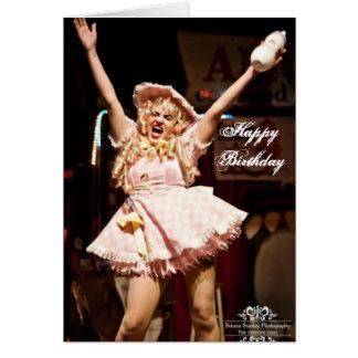 Tarjeta de cumpleaños de Jenn Martin (bebé Jenn)