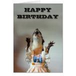 Tarjeta de cumpleaños de Juanita