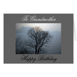 Tarjeta de cumpleaños de la abuela
