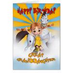 Tarjeta de cumpleaños de la bisnieta - empanada de