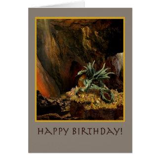 Tarjeta de cumpleaños de la guarida del dragón