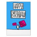 tarjeta de cumpleaños de la momia
