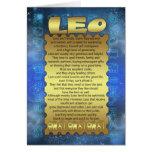 Tarjeta de cumpleaños de Leo - tarjeta de cumpleañ