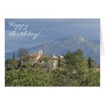 Tarjeta de cumpleaños de los Pirineos, Francia