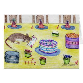 Tarjeta de cumpleaños de Molly del buzón