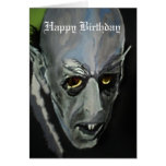 """Tarjeta de cumpleaños de """"Nosferatu"""""""