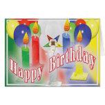 Tarjeta de cumpleaños de OES