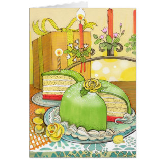 Tarjeta de cumpleaños de princesa Torte de Christi