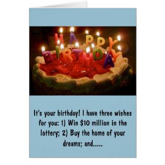 Tarjeta de cumpleaños de Rick Perry