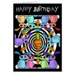 Tarjeta de cumpleaños de Zombunz