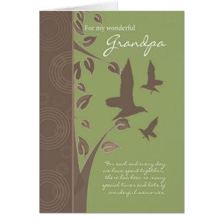 tarjeta de cumpleaños del abuelo - tarjeta de feli