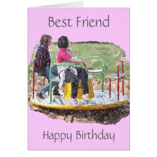 Tarjeta de cumpleaños del amigo