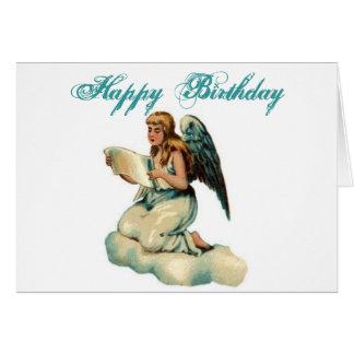 Tarjeta de cumpleaños del ÁNGEL
