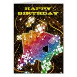 Tarjeta de cumpleaños del as