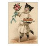 Tarjeta de cumpleaños del cocinero/del panadero de
