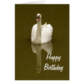 Tarjeta de cumpleaños del espacio en blanco de la