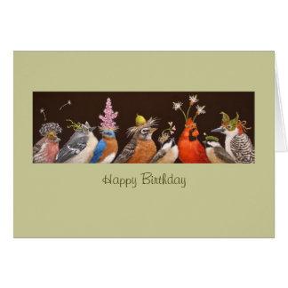 Tarjeta de cumpleaños del grupo