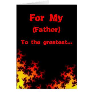tarjeta de cumpleaños del padre