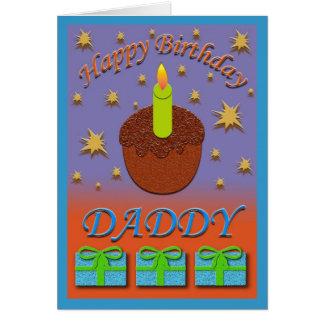 Tarjeta de cumpleaños del papá