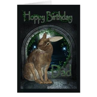 Tarjeta de cumpleaños del papá - cumpleaños de lúp
