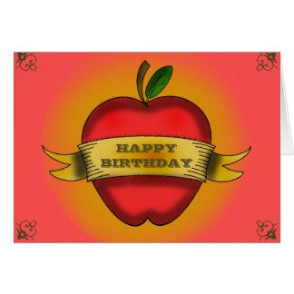 Tarjeta de cumpleaños del profesor