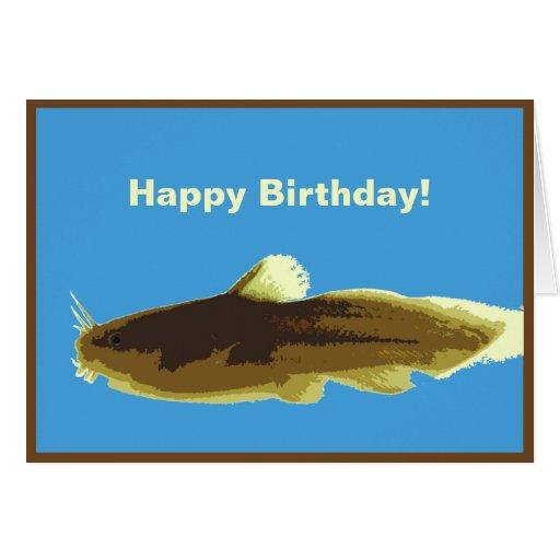 Tarjeta de cumpleaños del siluro de Madtom