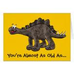 Tarjeta de cumpleaños del Stegosaurus
