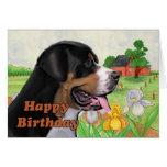 tarjeta de cumpleaños del swissie