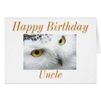 Tarjeta de cumpleaños del tío