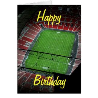 Tarjeta de cumpleaños del Wembley Stadium
