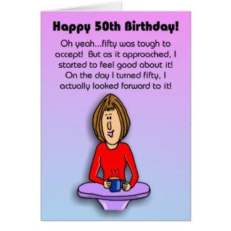 Tarjeta de cumpleaños divertida:  Celebración del