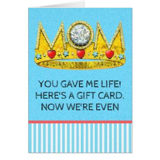 tarjeta de cumpleaños divertida para la mamá