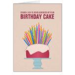 Tarjeta de cumpleaños económica de energía de la t