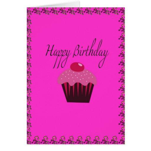 Tarjeta de cumpleaños - feliz cumpleaños
