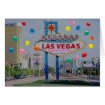 Tarjeta de cumpleaños feliz de Las Vegas 21ra en r